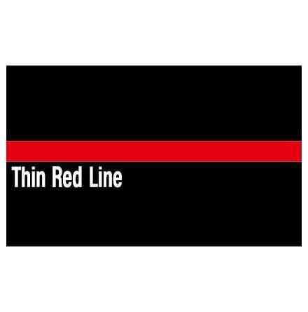 Thin Red Line Dekal 50x30mm